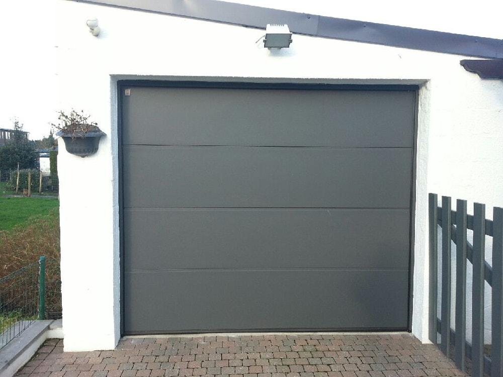 Installation de porte de garage en brabant wallon