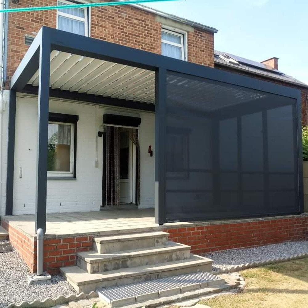 Installation de pergola en Brabant wallon