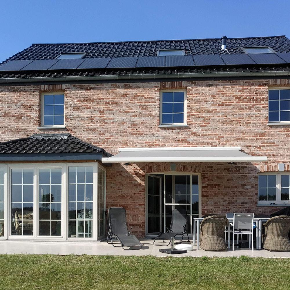 Pose banne solaire en Brabant wallon