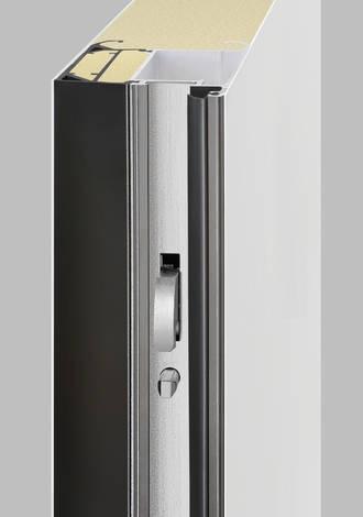 Détails et finition de la porte d'entrée ThermoSafe
